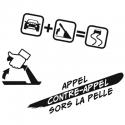 Stickers délire rallye