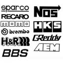 Stickers Racing Sponsor
