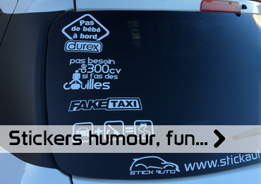 Stickers humour
